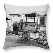 Street Traders Throw Pillow