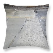 Street Under The Bridge Throw Pillow
