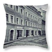 Street View Throw Pillow