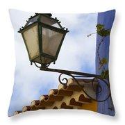 Streetlight Horizontal Throw Pillow
