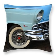 Streets Of 1956 Throw Pillow