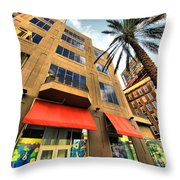Streets Of Nola Throw Pillow