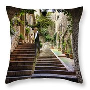 Streets Of Pisa Throw Pillow