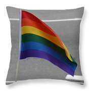Streets Of Pride Throw Pillow