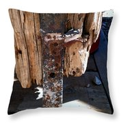 Streets Of Tombstone 14 Throw Pillow
