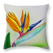 Strelitzia - Together Throw Pillow