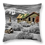Strength Amidst The Test Of Time Throw Pillow