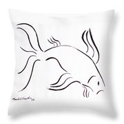 Strength Throw Pillow by Micah  Guenther
