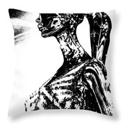 Strength Of Character 3 Throw Pillow