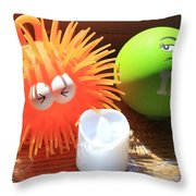 Stress Relief Throw Pillow