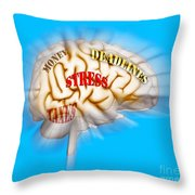 Stress Throw Pillow