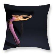 Stretch... Throw Pillow