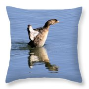 Stretched Out Throw Pillow