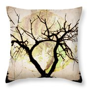 Stretching Throw Pillow