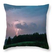 Strike On Hancock Point Throw Pillow