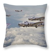 Strike Package Throw Pillow