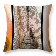Striking A Chord Throw Pillow