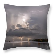 Striking Ozona Throw Pillow