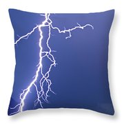 Striking The China Wall   #2006 Throw Pillow
