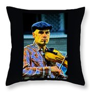 My String Instrument Throw Pillow