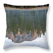 String Lake Grand Teton National Park Throw Pillow