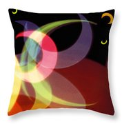 String Of Lights 1 Throw Pillow