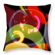 String Of Lights 2 Throw Pillow