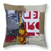 String Quartet Throw Pillow by Elena Nosyreva