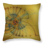 String Shell Throw Pillow