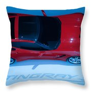 Stringray Throw Pillow