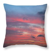 Strings Of Fire In The Sky. Throw Pillow