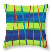 Stripes Throw Pillow