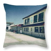Strollin' Down The Strand Throw Pillow