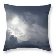 Strom Clouds Throw Pillow