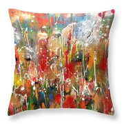 Strong And Courageous Throw Pillow