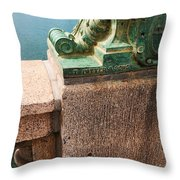 Strong And Historic Throw Pillow