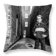 Strong Stand Throw Pillow