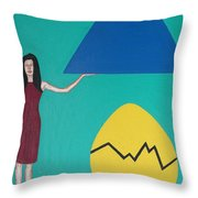 Stronger Than You Think Throw Pillow