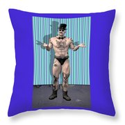 Emcee  Throw Pillow