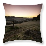 Stroud Sunrise Throw Pillow