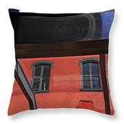 Structural Abstract 3 Throw Pillow