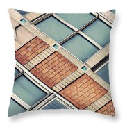 Structural Abstract 5 Throw Pillow
