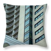 Structural Symmetry Throw Pillow