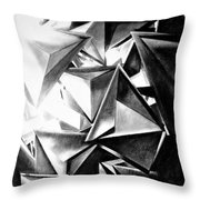 Structure Invasion Throw Pillow