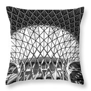 Structure  Throw Pillow