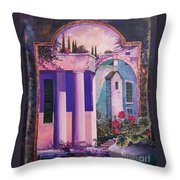 Structures With Emotional Dimensions Throw Pillow