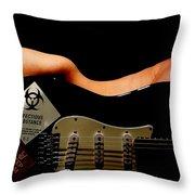 Strum Pet Throw Pillow