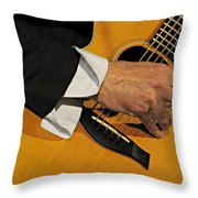 Strum'n Throw Pillow