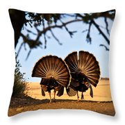 Strutten Their Stuff Throw Pillow
