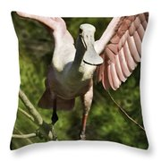 Strutting - 3d Throw Pillow
